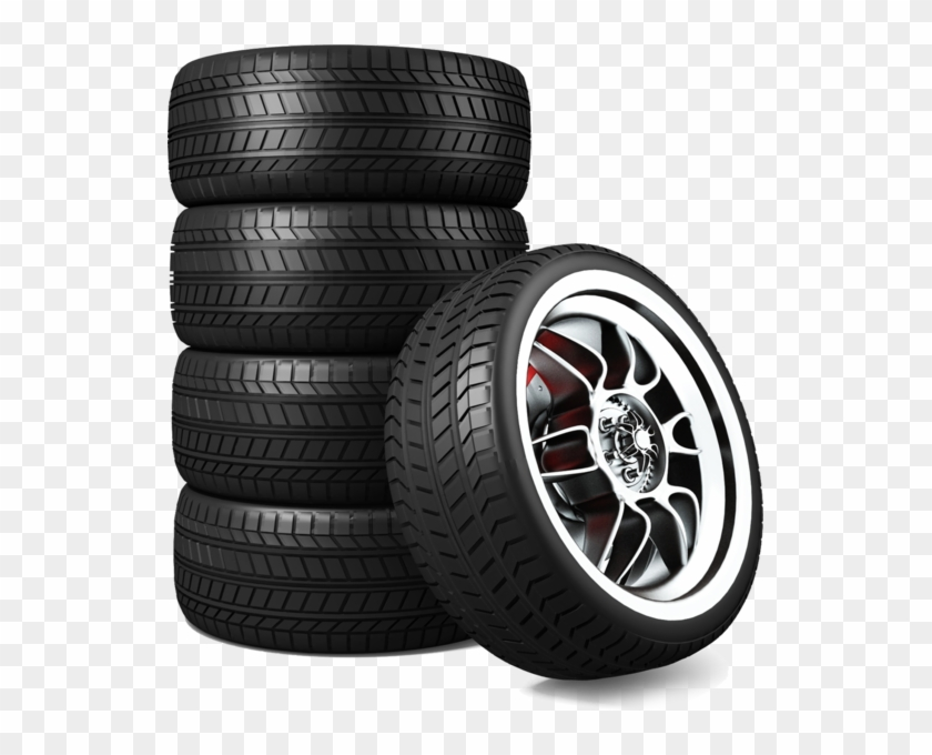 Tire Stack - Stack Of Tires Png Clipart #2895068