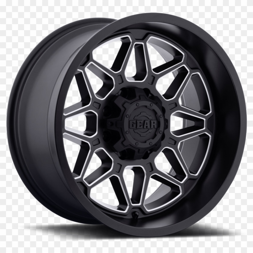 24 Inch Wheels And Tires Png Black Off Road Wheels Clipart