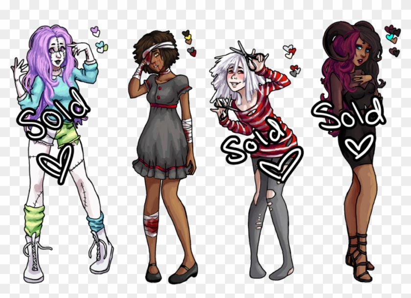 Download Open Cute Adopts One Left By Sospook Creepy Cute
