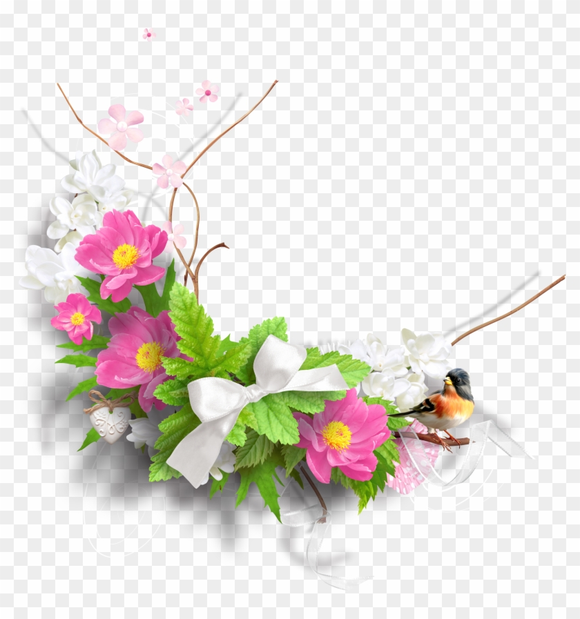 Spring Flowers Png Png Images - Spring Flowers Png Clipart #290029