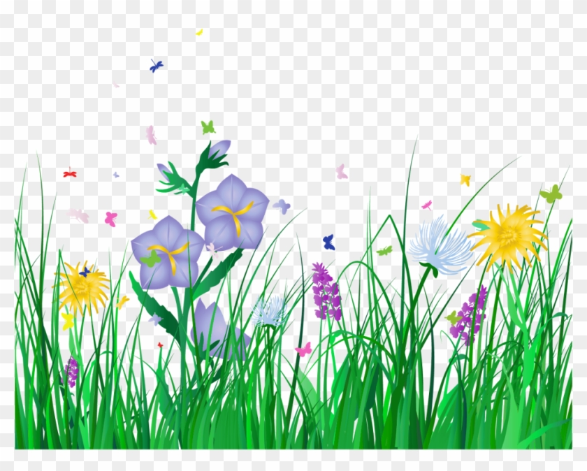 Overlay Sticker - Spring Flowers Transparent Background Clipart #290096