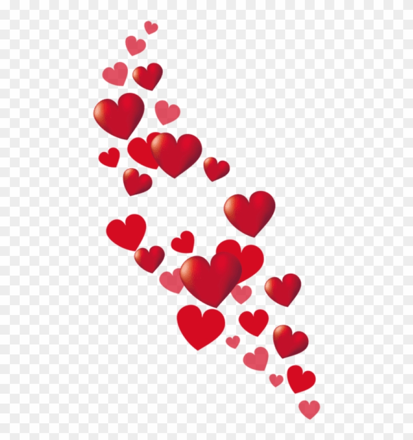 Free Png Download Valentine Hearts Decorpicture Png - Clipart Heart Valentines Day Transparent Png #290830