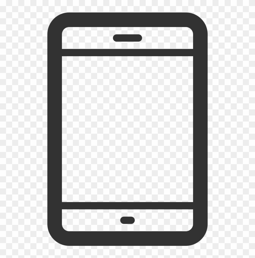 Cell Phone Icon Png File Linecons Smartphone Outline - Cell Phone Vector Png Clipart #291720