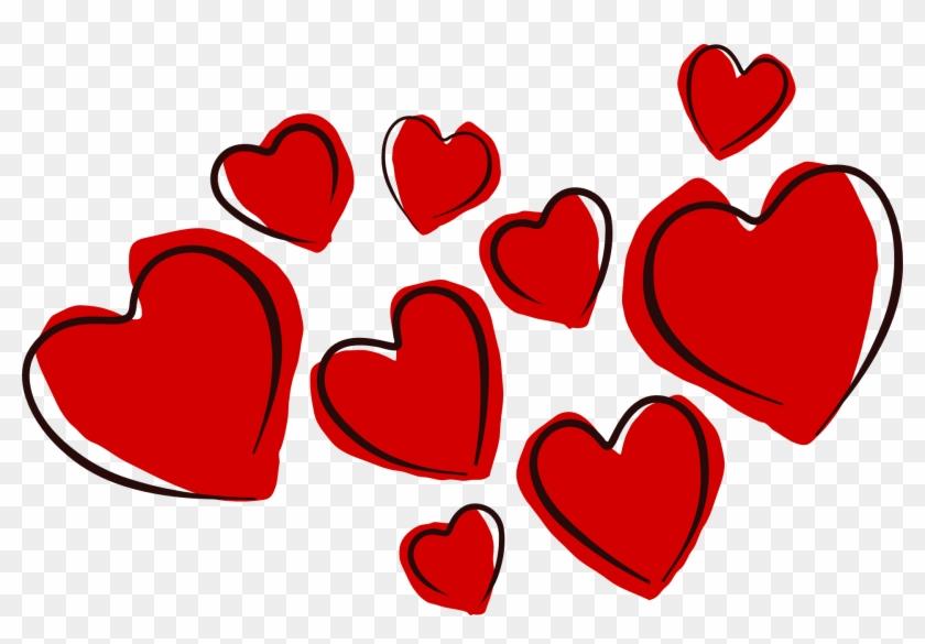 San Valentine Png - Valentines Day Heart Clip Art Transparent Png #291753