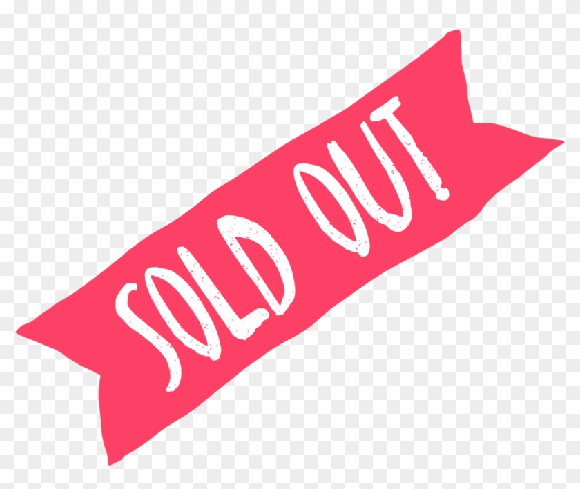 That's All Folks Our Next Small Charities Forum Is - Pink Sold Out Logo Clipart #292090