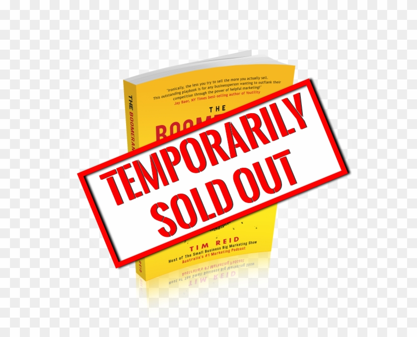 The Boomerang Effect Temp Sold Out - Paper Clipart #293000