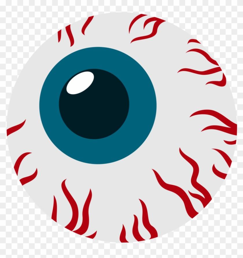 Red Eye Drawing Clip Bloodshot Eyeball Cartoon Png Download
