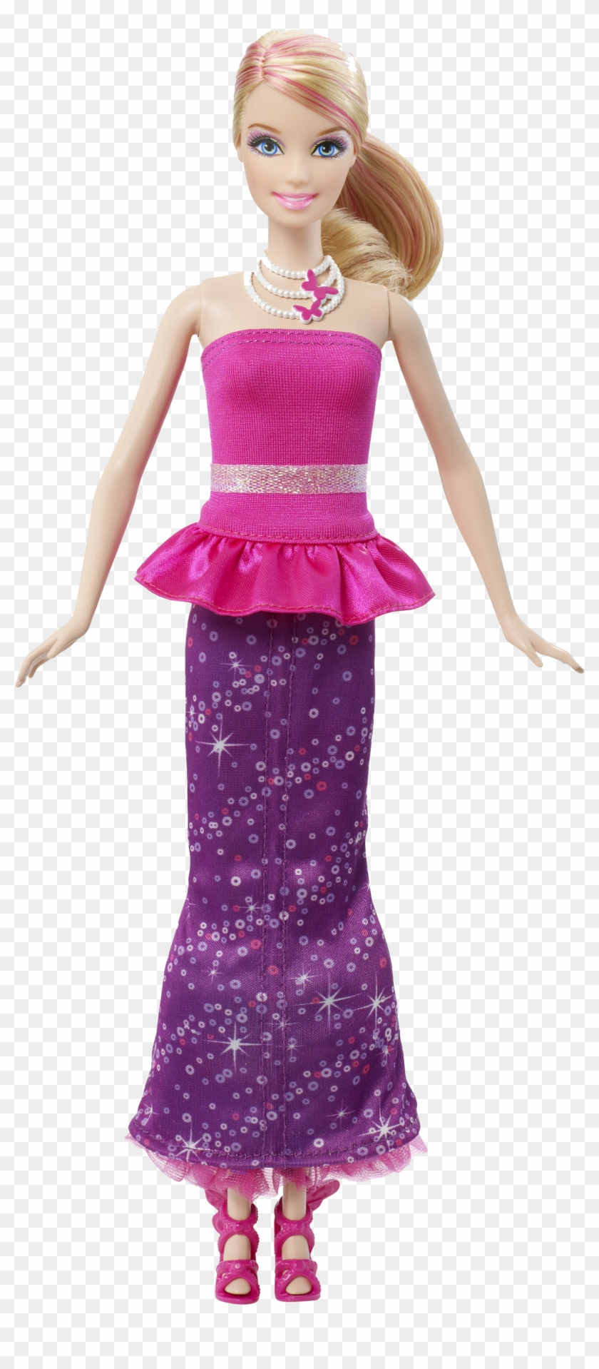 Barbie Doll Free Download Png - Barbie A Fairy Secret Dress, Transparent Png #294298