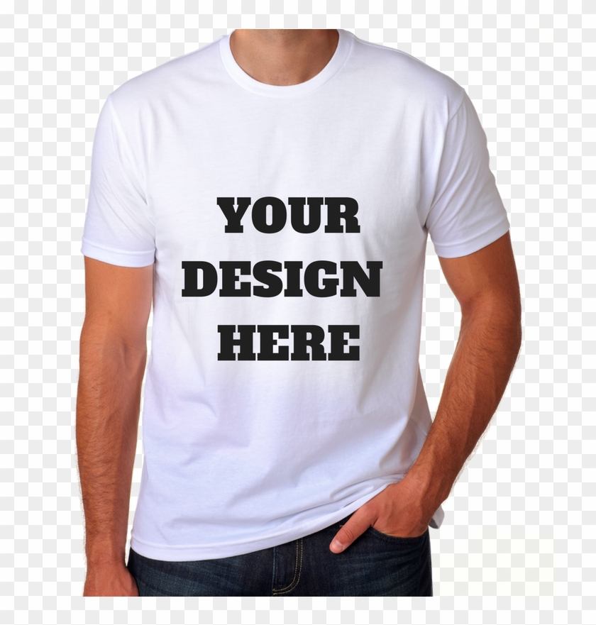 Your Design Here T Shirt Clipart #298053