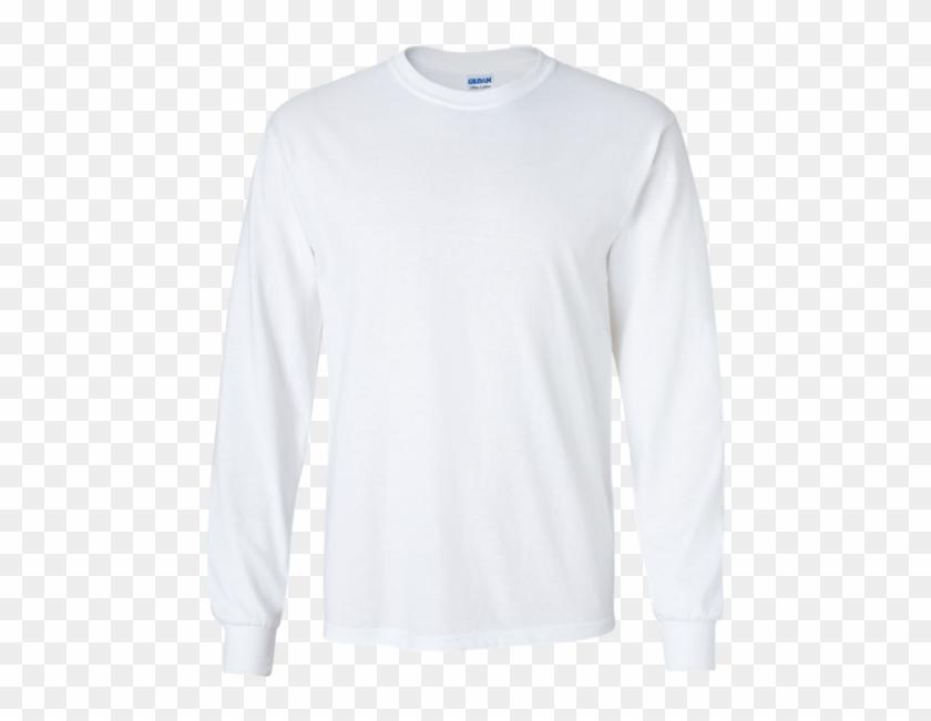 Ultra Cotton Long Sleeve T Shirt - White Blank Long Sleeve T Shirt Clipart #298179