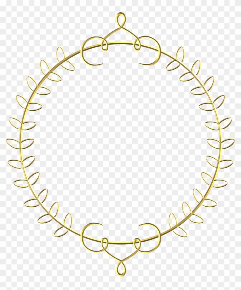 Circle Royal Border Transparent Clipart #298571