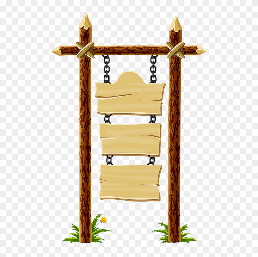 Wooden Blank Sign Frame1 Pinterest Hanging Wood Sign - Wooden Street Sign Clipart, HD Png Download #299258