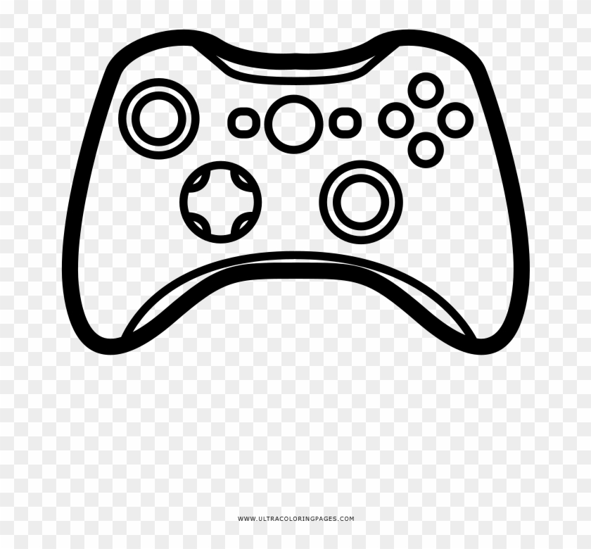 Video Game Controller Coloring Page Game Controller Clipart 2901034 Pikpng
