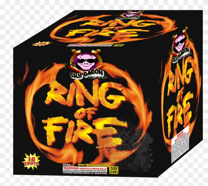 Iron Hill Ring Of Fire Porter Clipart #2901362
