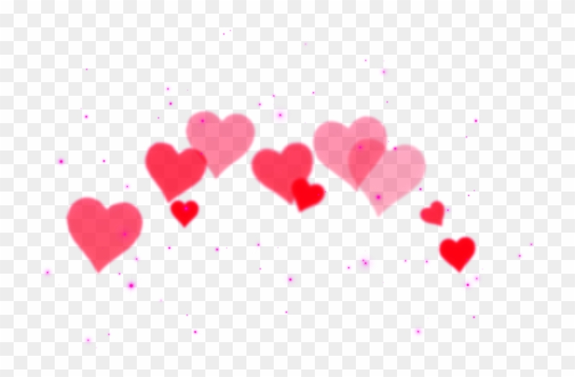 Heart Png Tumblr Black , Png Download - Overlay Hearts Clipart #2907736