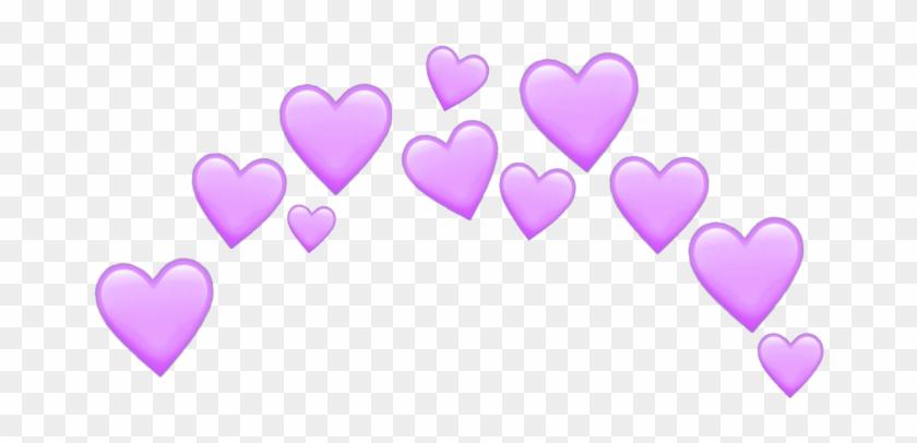 Purple Heart Emoji Png - Heart Clipart #2914630