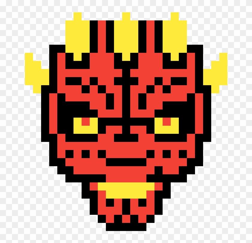 Darth Maul Star Wars Pixel Art Hd Png Download 2917362