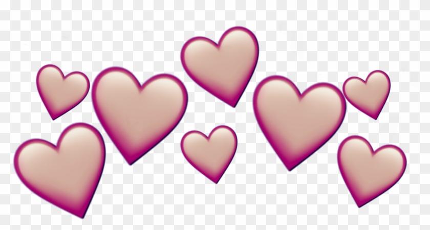Heartcrown Heart Crown Emoji Iphone Emojiiphone Like - Emoji Clipart #2925769