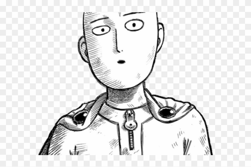 One Punch Man Drawing Easy Clipart 2926388 Pikpng