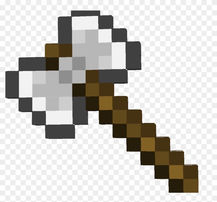 Minecraft Sword Vs Axe - Kawaii Pineapple Pixel Art Clipart #2927216