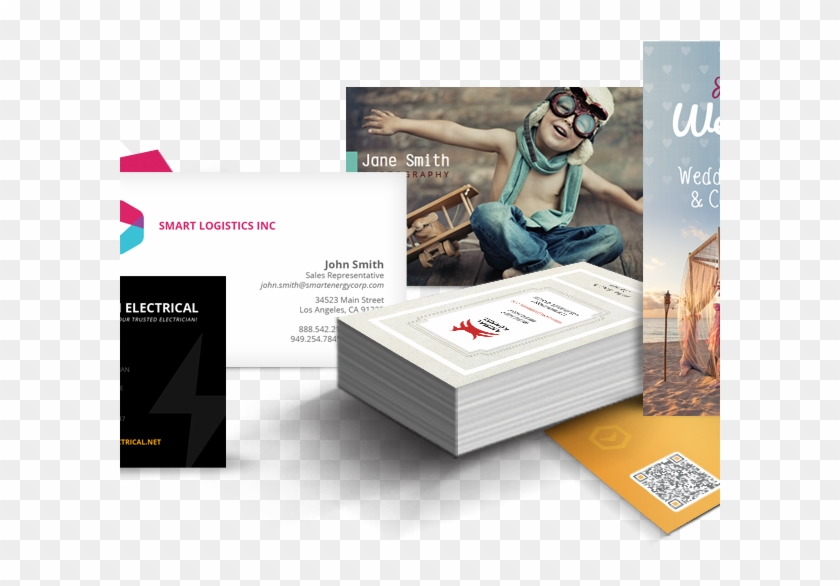 Business Cards - Flyers Postcards Business Cards Clipart #2934064