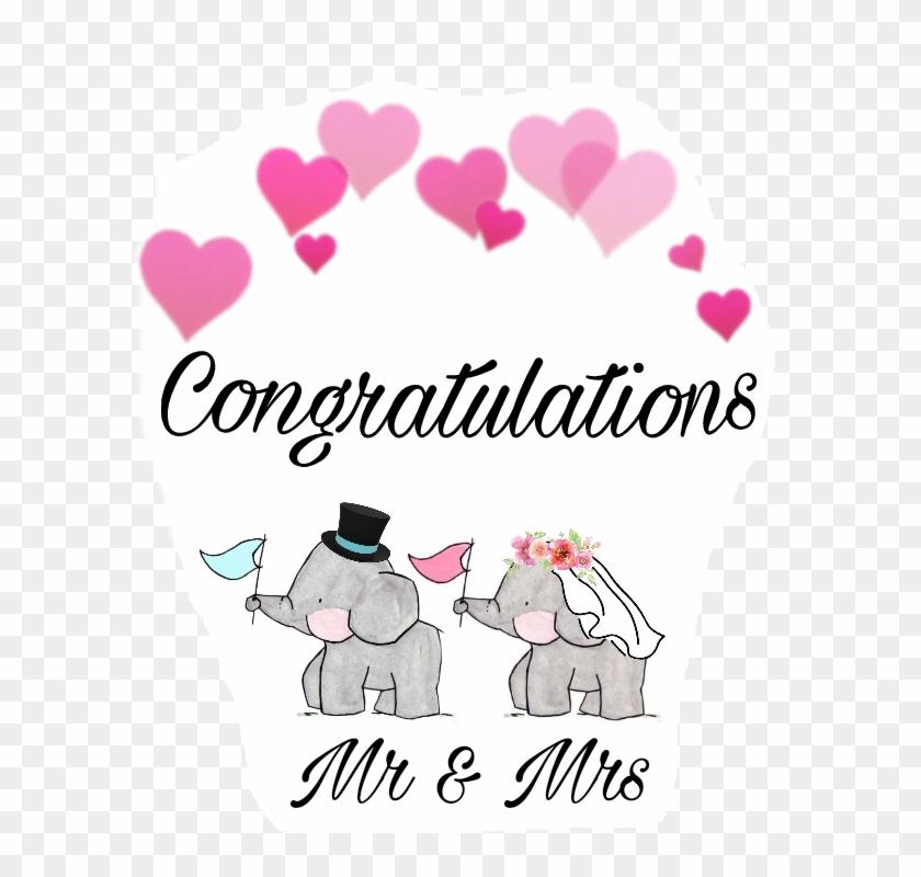 #wedding #couple #elephants #love #congratulations - Blue Heart Crown Clipart #2936900