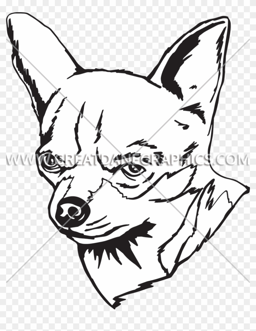 Png Freeuse Library Chihuahua Line At Getdrawings Com - Chihuahua Line Drawing Clipart #2937702
