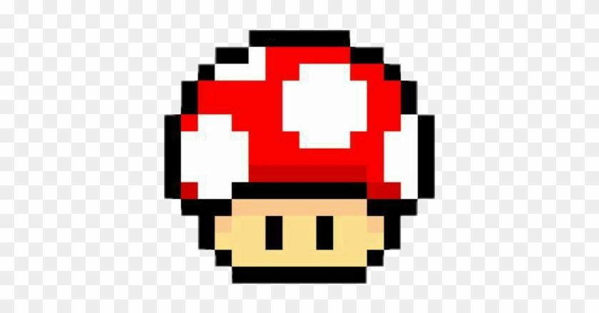 Freetoedit Retro Game Mario Mushroom Clipart 2940859 Pikpng