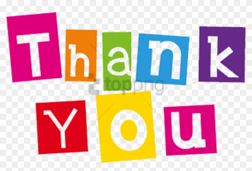 Free Png Thank You Colours Png Image With Transparent Thank You
