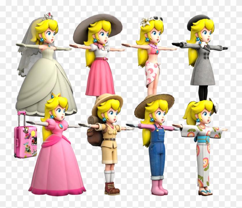 mario odyssey princess peach bowser