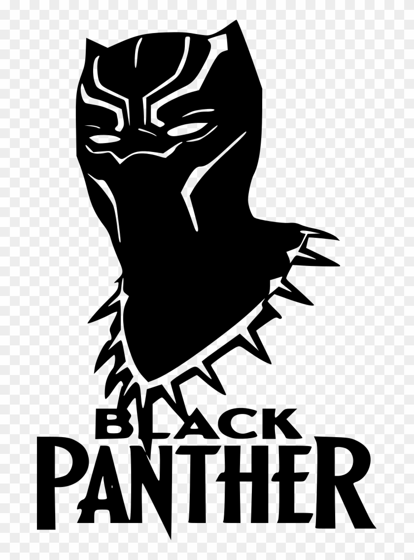 Black Panther Black Panther Silhouette Clipart 2950168 Pikpng