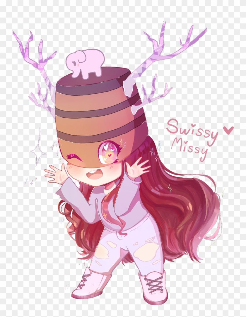 I Finished Your Roblox Character She Was Very Cute Cartoon Clipart 2950986 Pikpng