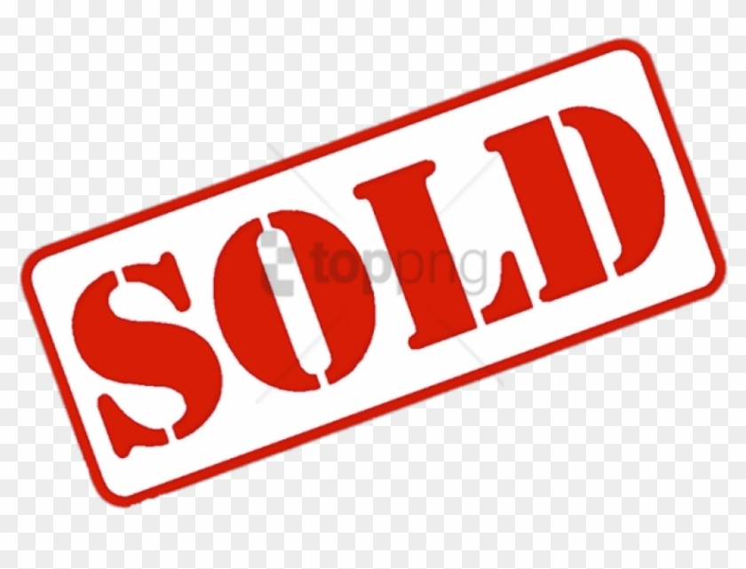 Sold Out Sign Png - Sold Out Sticker Png Clipart #2958439