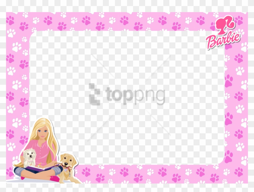 Free Png Barbie - Barbie Borders And Frames Clipart #2959153