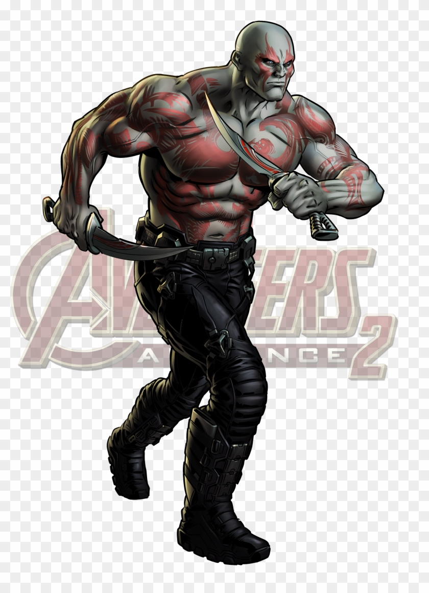 Destroyer Marvel , Png Download - Drax Comic Png Clipart #2959644