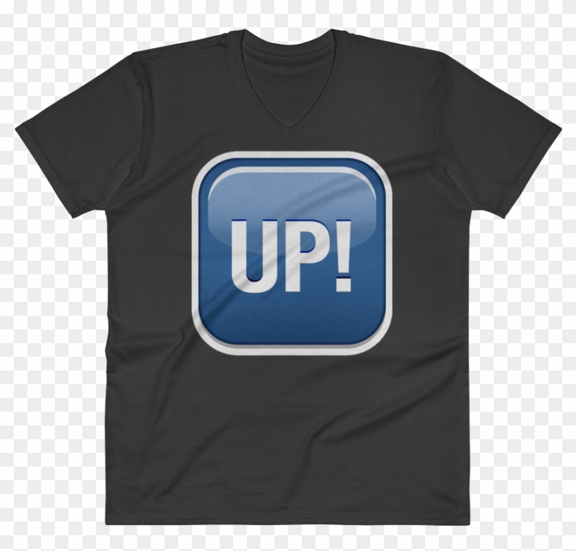 Men's Emoji V Neck - We Are One T Shirt Clipart #2961649