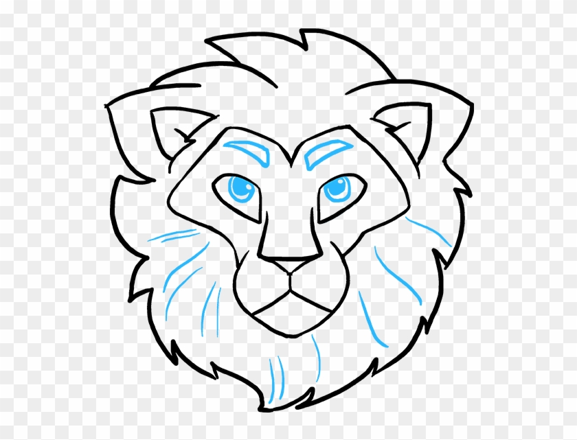 Drawing Lions Simple Lion Face Easy Drawing Clipart 2966278 Pikpng Select from 34975 printable crafts of cartoons, nature, animals, bible and many more. drawing lions simple lion face easy