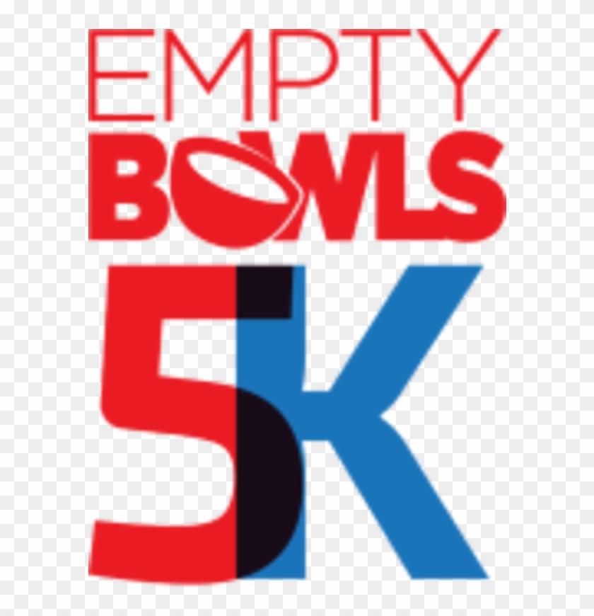 Empty Bowls 5k Memorial Day Weekend Fun Run - Graphic Design Clipart #2967523