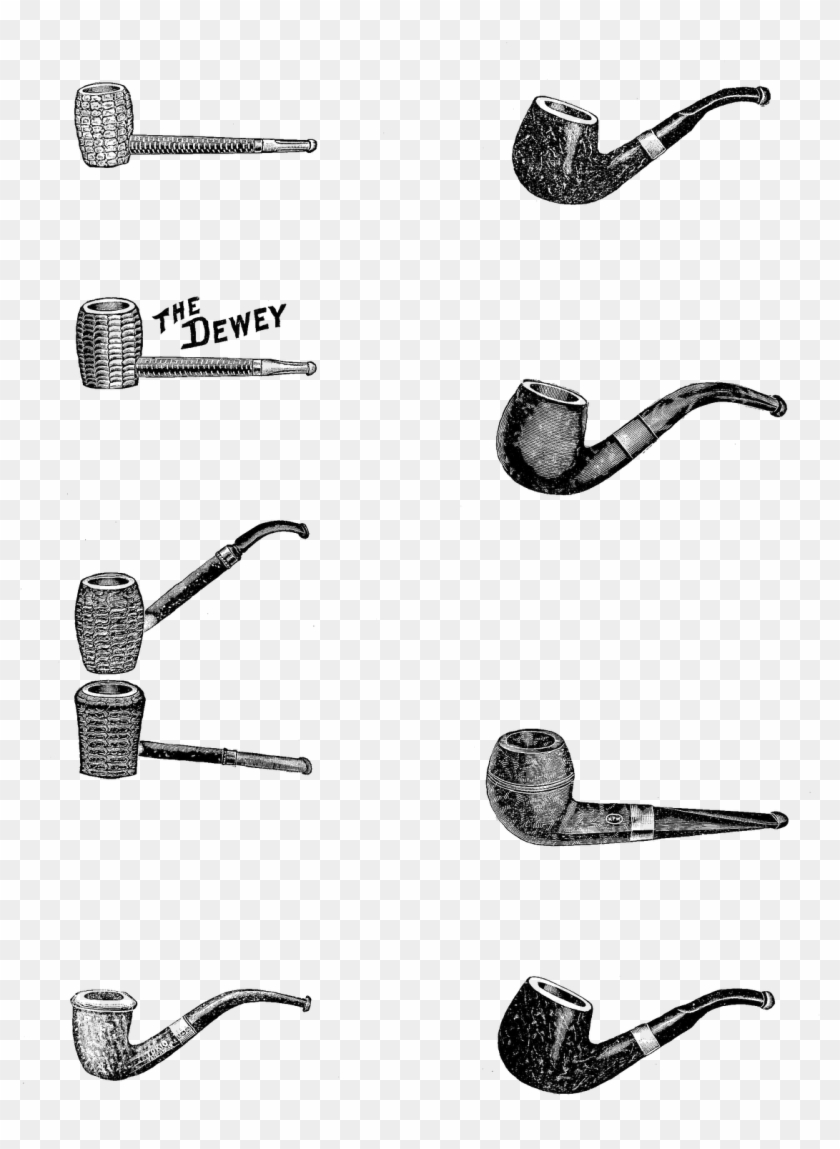 Aren't These Pipe Images Great This Is A Digital Collage - Old Pipe Clip Art - Png Download #2969530