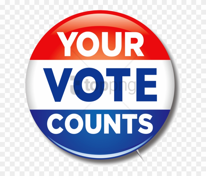 Free Png Download Vote Png Png Images Background Png - Your Vote Counts Clipart #2969870