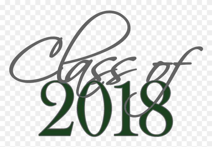 High School Graduation Class Of 2018 Clipart #2972999