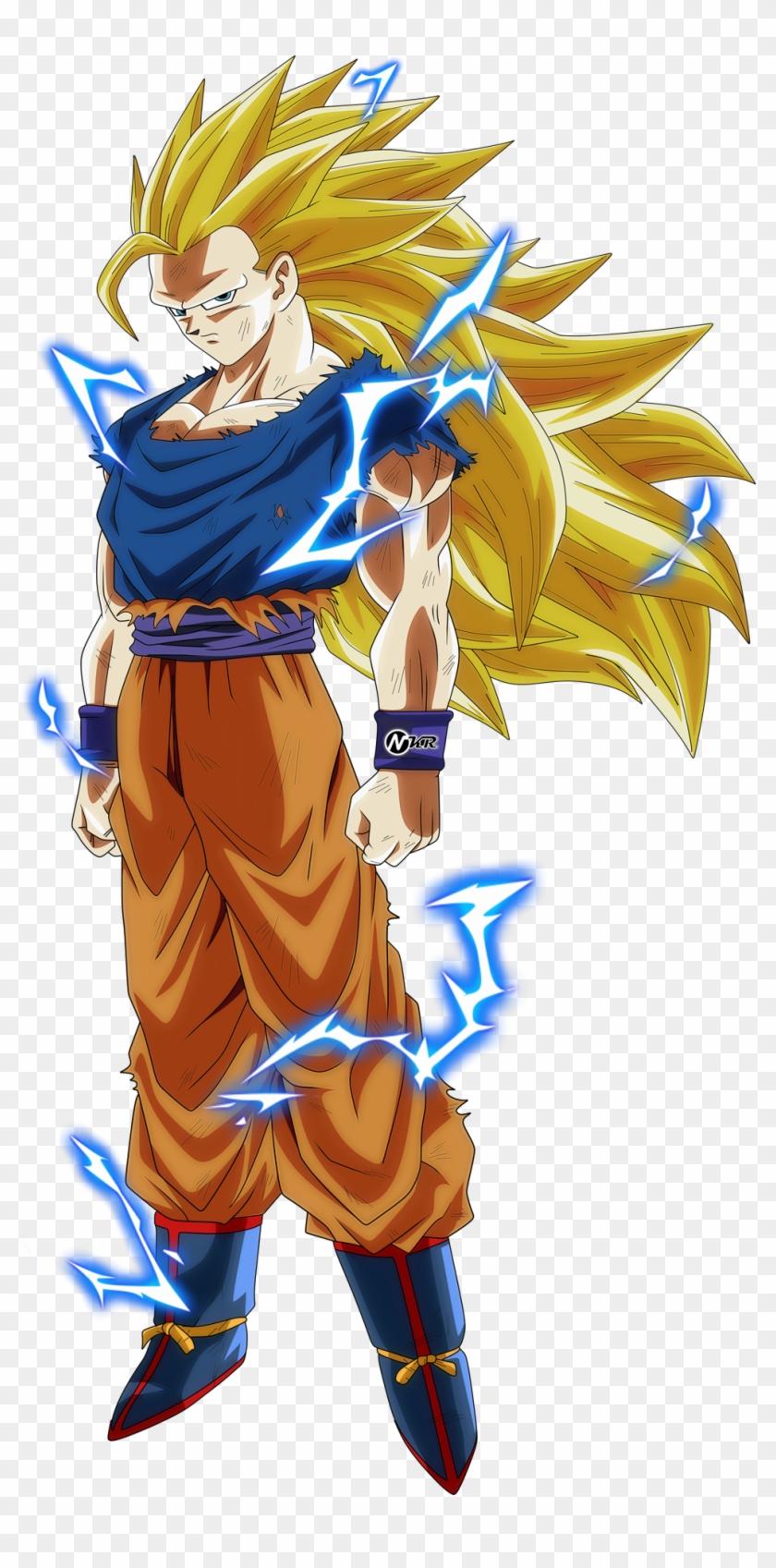 Ssj Chat Dragon Ball Super Goku Ssj 3 Hd Png Download 2977579