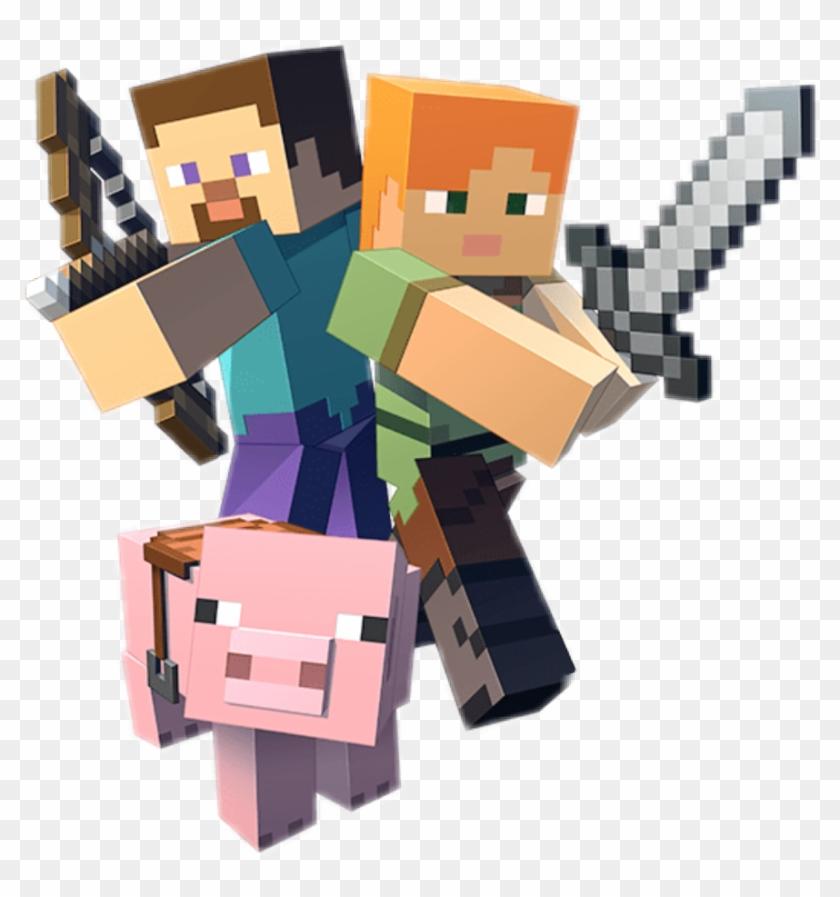 Minecraft Steve Alex Personajes De Minecraft En Png Clipart