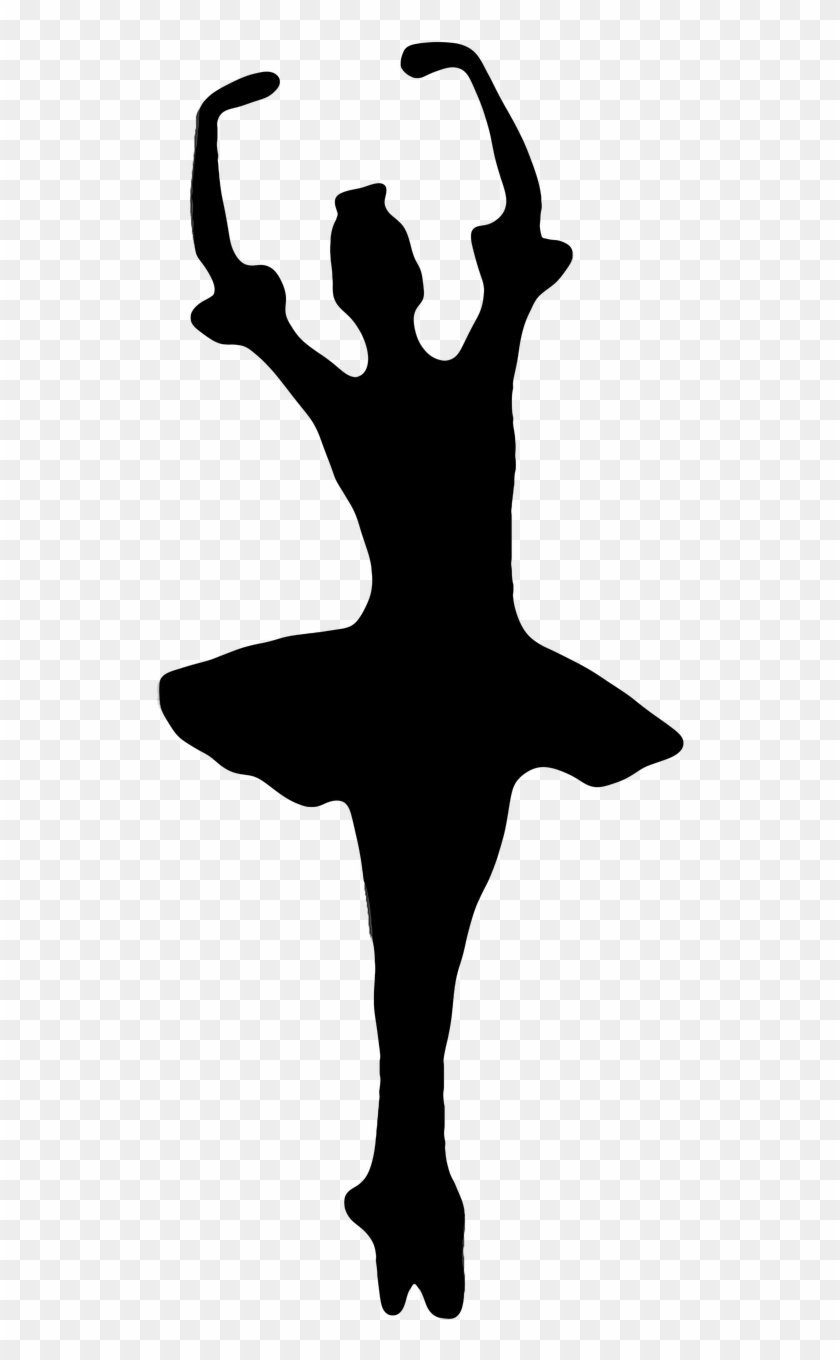 Ballet Dancers Woman Silhouettes Png Image Cardboard Cutout Ballerina Clipart 2987188 Pikpng