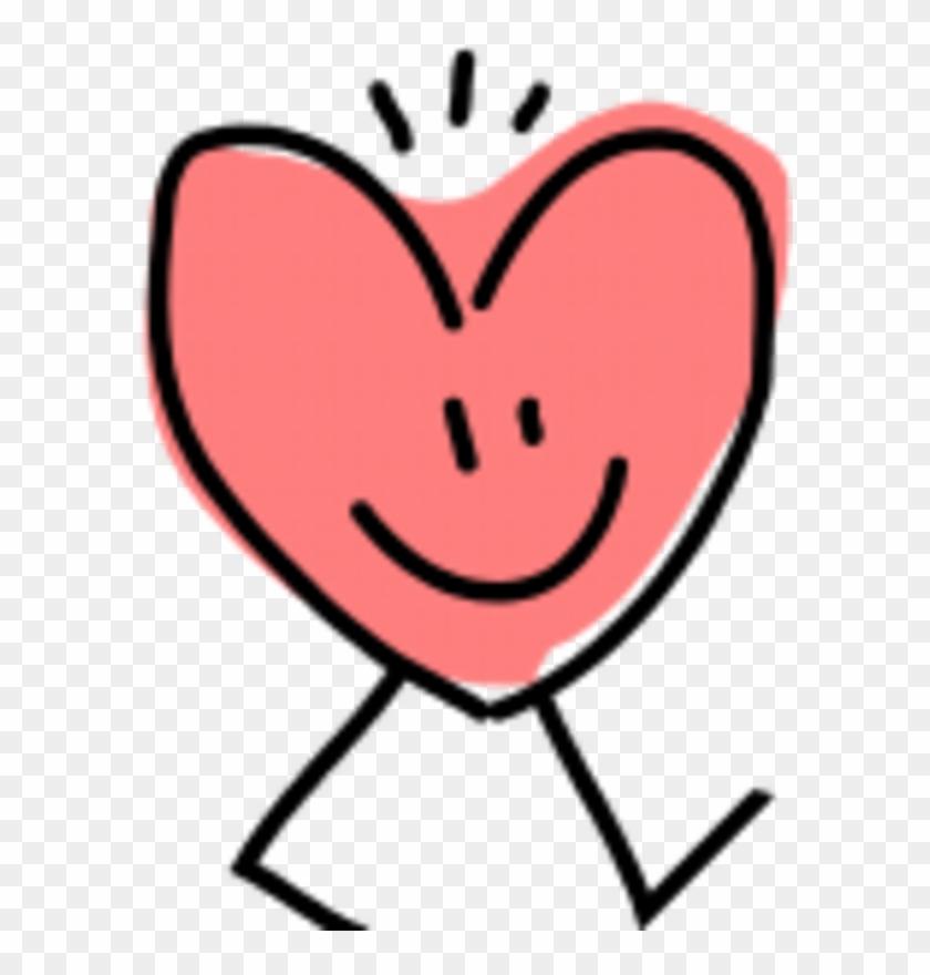 Happy Heart Clipart - Happy Heart - Png Download #2987575