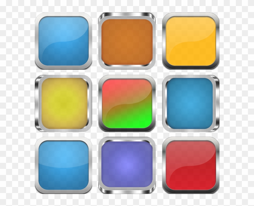 Click Here To Download Social Media Icon Framed Backgrounds - Samsung Galaxy Tab A 10.1 Clipart #2997863