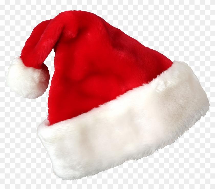 Download Hat Santa Claus Christmas Transparent Png - Santa Claus Cap Png Clipart #30081