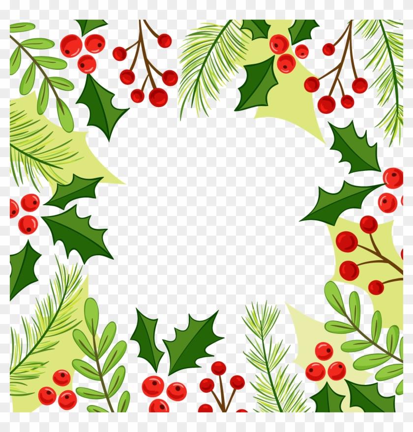 Christmas Corner Border Design Clip Art - Png Download #31242