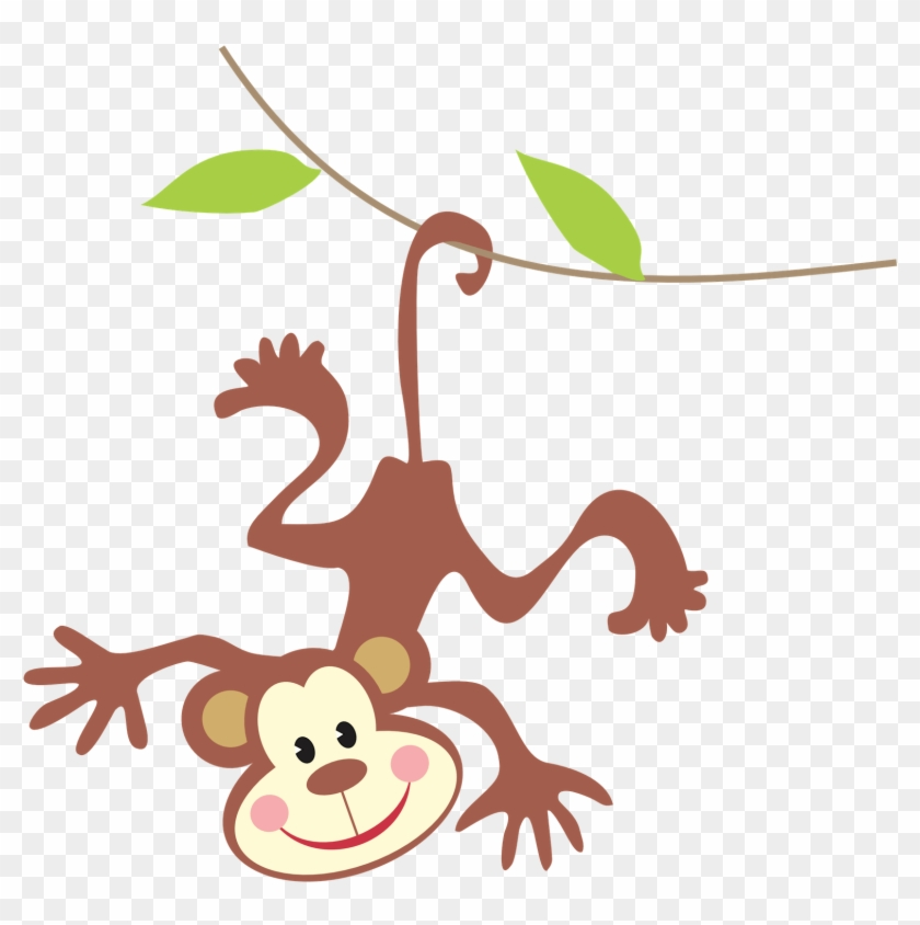 Jungle Clip Art Monkey Clipart Free Png Download 31986 Pikpng