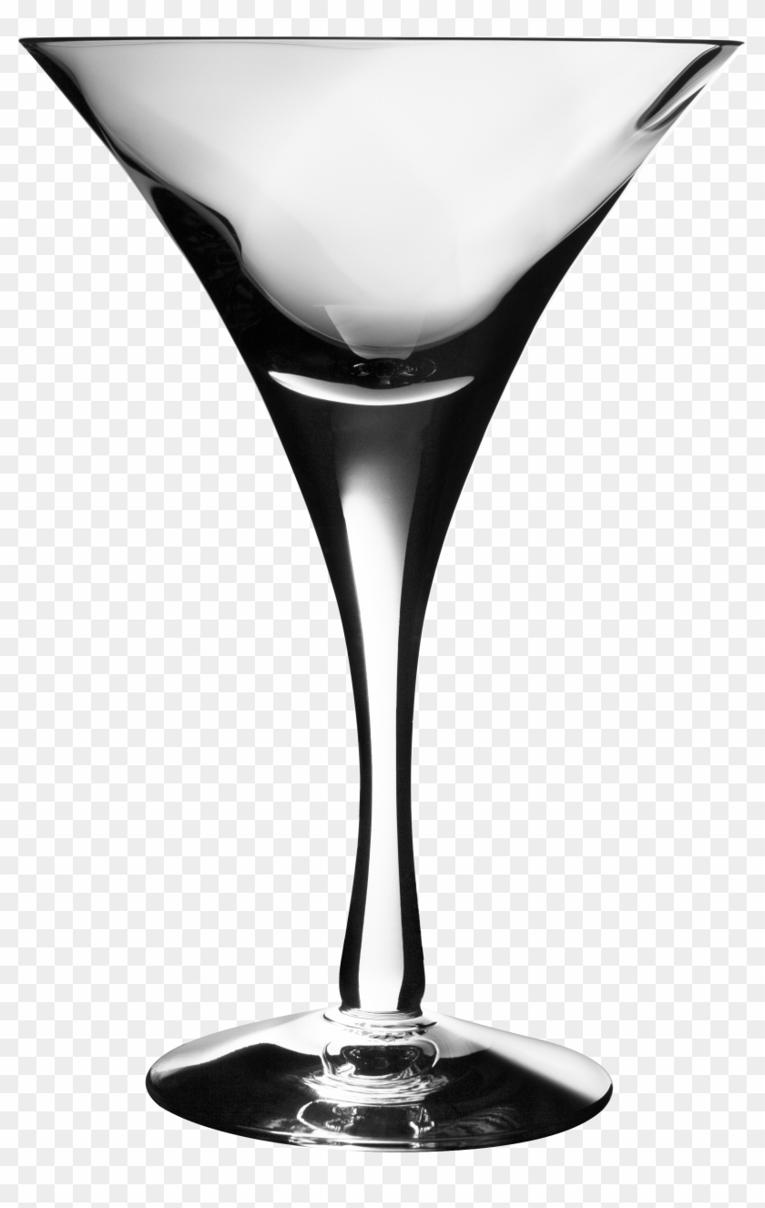 Glass Png Image - Empty Wine Glass Png Clipart #34011